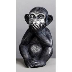 Figura mono sordo Resina