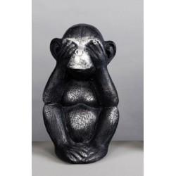 Figura mono mudo Resina