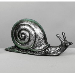 Figura elefante pequeño plata
