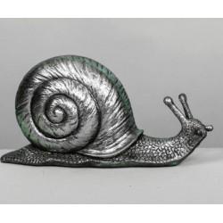 Figura caracol pequeño plata