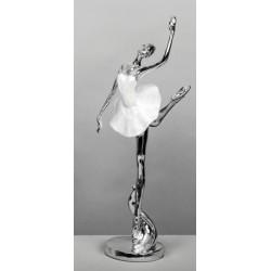 Figura bailarina plata/nacar