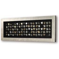 Cuadro oro negro 120x80
