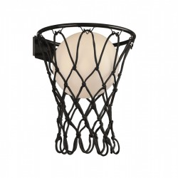 Aplique basketball rojo