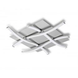 Plafón led aluminio 34 w