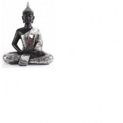 Figura Buda resina sentada