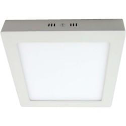 Plafón panel cuadrado Blanco 24W