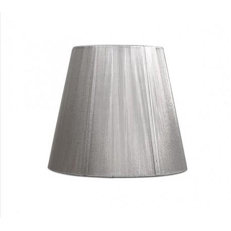 Pantalla Indira Conica hilo plata d20 E27