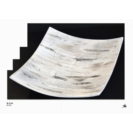 Centro de mesa cerámica 40x40