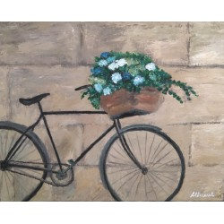 Cuadro bicicleta 40x50