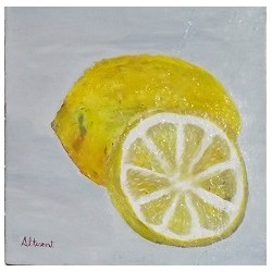 Cuadro fruta relieve 30x30 Altisent