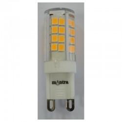 bombilla LED g9 3,5 W 2700k 360 lm