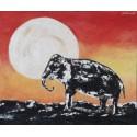 Cuadro elefante 40x50 Altisent