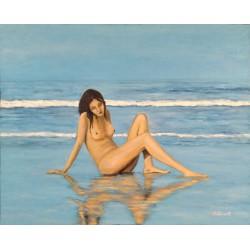 Cuadro mujer desnuda 65x80