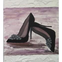 Cuadro zapatos 40x35