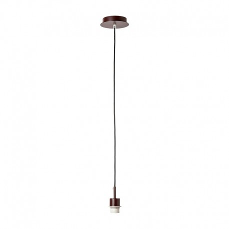 Colgante Basic marron