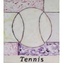 Cuadro pelota tenis Altisent 40x35