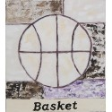 Cuadro balón basket Altisent 40x35