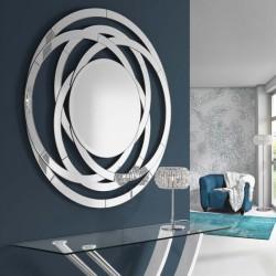 Espejo pared Aros 120x120